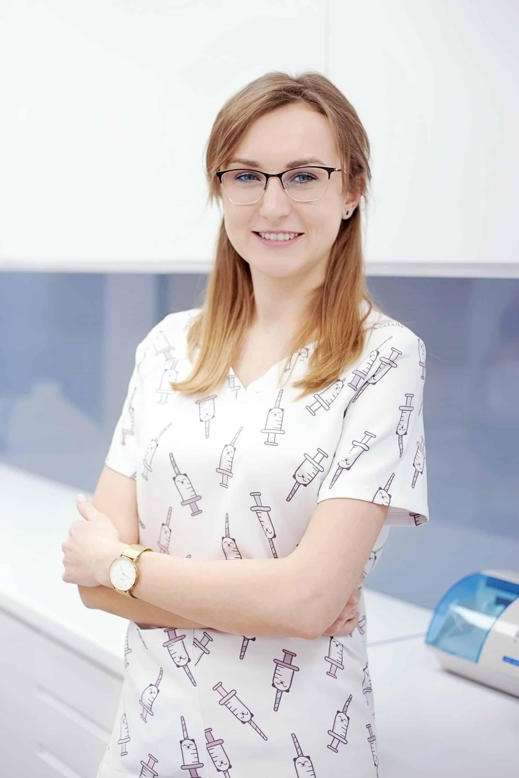 asystentka gabinet dentystyczny Prylinski